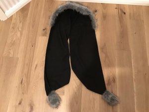 Écharpe à capuche noir