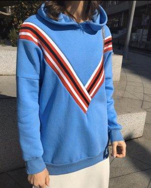 Kapuzenshirt Blau