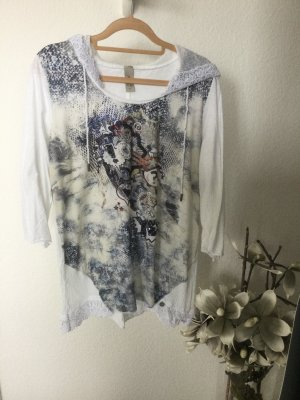 Tredy Hooded Shirt multicolored