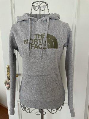 The North Face Sudadera con capucha gris claro Algodón
