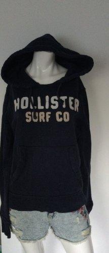 Hollister Felpa con cappuccio blu scuro