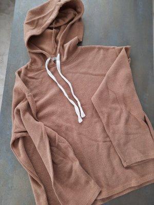 Zara Hooded Sweatshirt brown