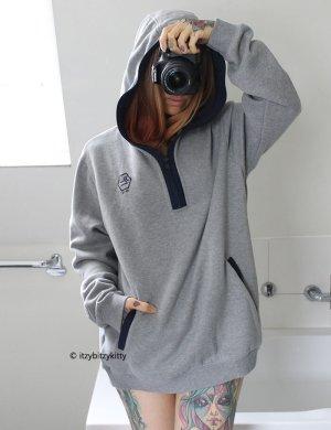 Hooded Sweatshirt grey-blue