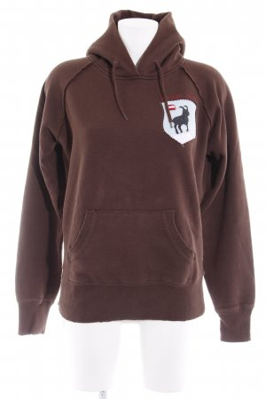 Kapuzensweatshirt mehrfarbig Casual-Look