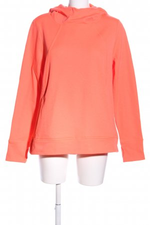Kapuzensweatshirt rot Casual-Look