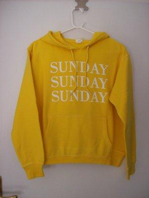 Kapuzensweatshirt sonnengelb von H&M L.O.G.G.