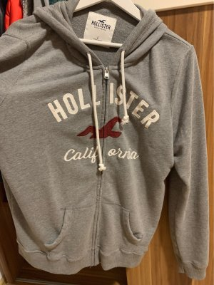 Hollister Hooded Vest grey