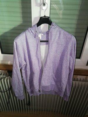 H&M Capuchon vest grijs-lila