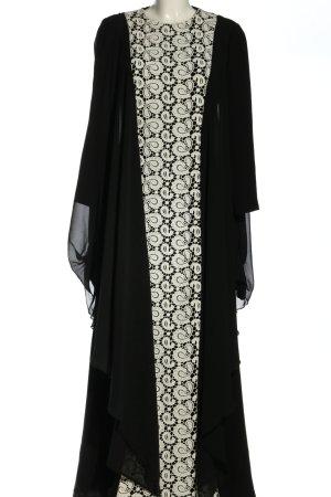 Karaca Ilknur Kaftan czarny-biały Elegancki
