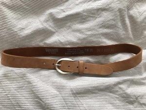 Vanzetti Leather Belt light brown