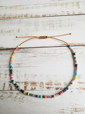 Anklet multicolored