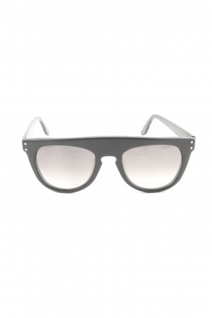 Square Glasses black casual look
