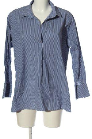 Karen by Simonsen Lumberjack Shirt blue-white allover print casual look