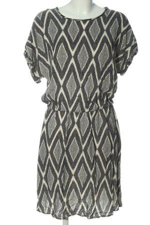 Karen by Simonsen Shortsleeve Dress black-natural white allover print