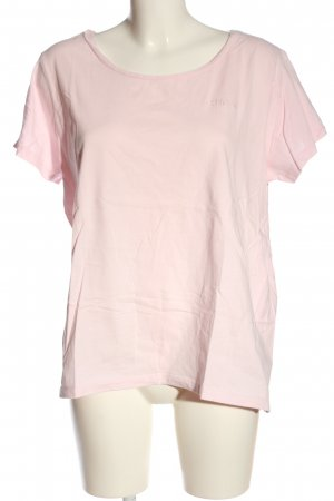 Karen by Simonsen T-Shirt pink embroidered lettering casual look