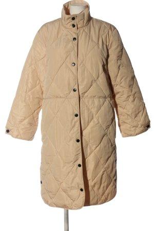 Karen by Simonsen Winter Jacket brown quilting pattern casual look