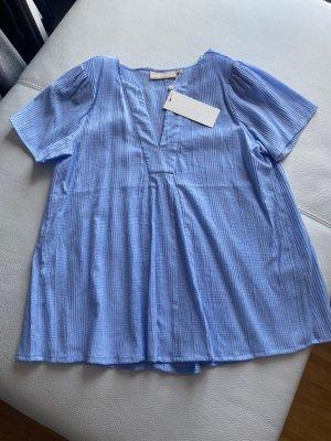 Karen by Simonsen Short Sleeved Blouse azure