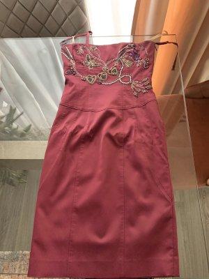 KAREN MILLEN Mini vestido púrpura