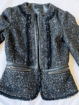KAREN MILLEN Blazer en tweed noir