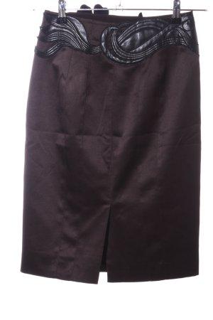 KAREN MILLEN Falda de tubo color bronce look casual