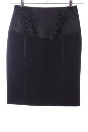 KAREN MILLEN Falda de tubo negro look casual