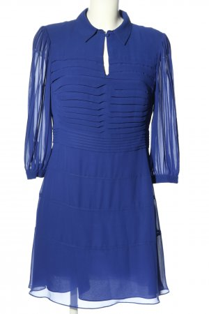 KAREN MILLEN Blusenkleid blau Streifenmuster Casual-Look