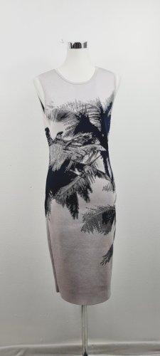 Karen Millen/ Bodycon Kleid/ Grau mit Print/ Größe 4 (D40)/ Zustand: Gut