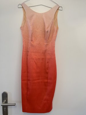 Karen Millen Cocktailkleid in lachsfarben/orange