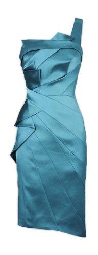 Karen Millen Hammer Satin/Strech Kleid