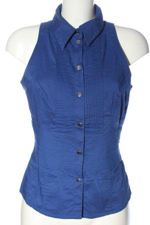 KAREN MILLEN Hemd-Bluse blau Business-Look