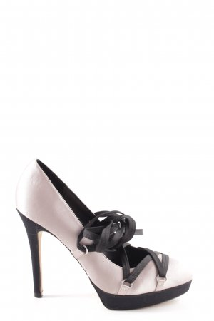 KAREN MILLEN High Heels schwarz-pink Elegant