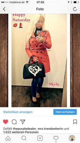 Karen Millen Jacke orange blau