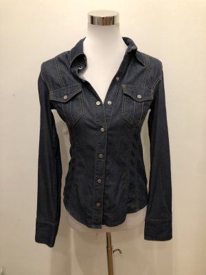 KAREN MILLEN Denim Shirt blue