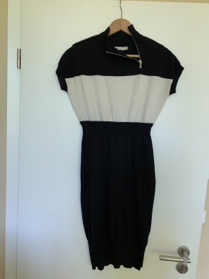 KAREN MILLEN Robe crayon blanc-noir