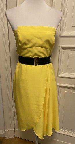 Karen millen kleid gelb grösse 36
