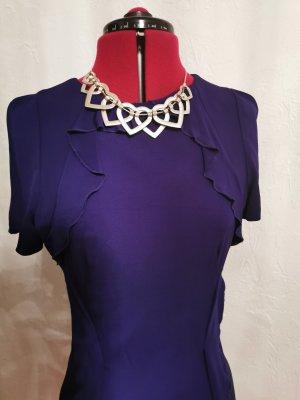 KAREN MILLEN Vestido a media pierna violeta oscuro