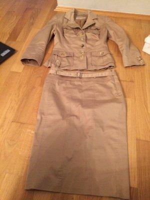 KAREN MILLEN Ladies' Suit camel cotton