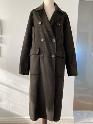 KAREN MILLEN Wool Coat multicolored wool