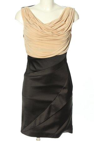 KAREN MILLEN Minikleid schwarz-creme Elegant