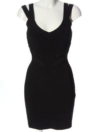 KAREN MILLEN Minikleid schwarz klassischer Stil