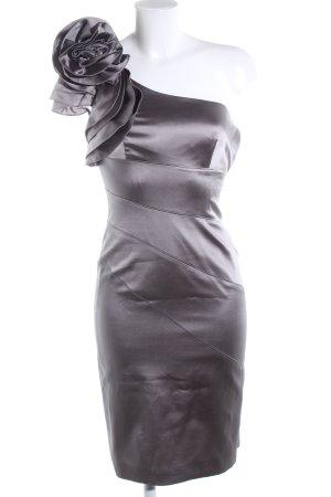 KAREN MILLEN Vestido de un hombro gris claro elegante