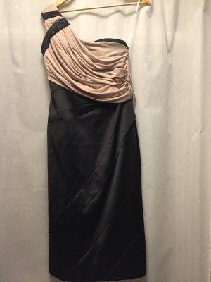 KAREN MILLEN Vestido de noche negro-beige