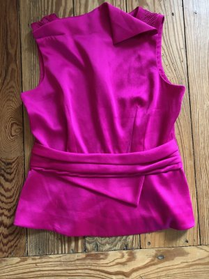 KAREN MILLEN Blusa sin mangas rosa Poliéster
