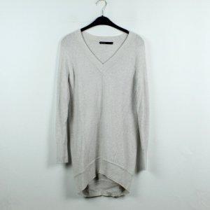 KAREN MILLEN Jersey con cuello de pico gris claro