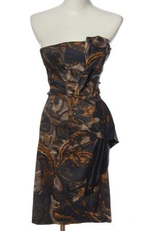 KAREN MILLEN schulterfreies Kleid abstraktes Muster Casual-Look