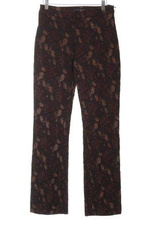 KAREN MILLEN Jersey Pants flower pattern elegant