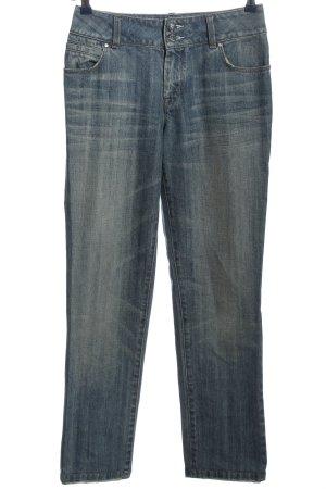 KAREN MILLEN Straight-Leg Jeans blau Casual-Look