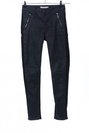 KAREN MILLEN Pantalón elástico negro look casual