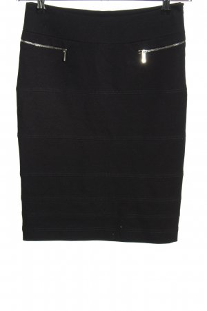 KAREN MILLEN Falda stretch negro estilo «business»