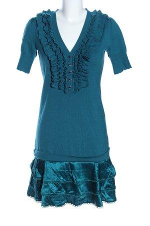KAREN MILLEN Strickkleid blau Casual-Look